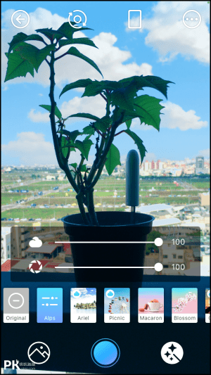 PICNIC風景濾鏡App3