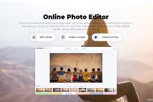 免費Fotoram線上照片編輯器!修圖、拼貼相片、藝術濾鏡、光線效果。