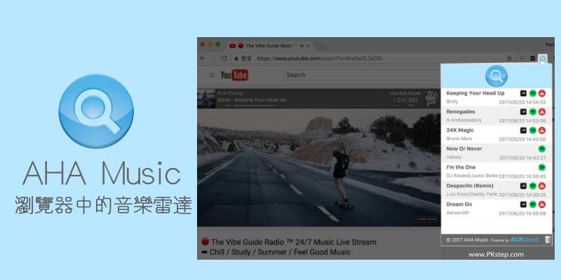 AHA-Music-瀏覽器中的音樂雷達