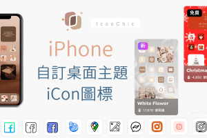 iPhone自訂桌面主題教學!變更桌面App的icon,超可愛的圖標任你換。IconChic(iOS)