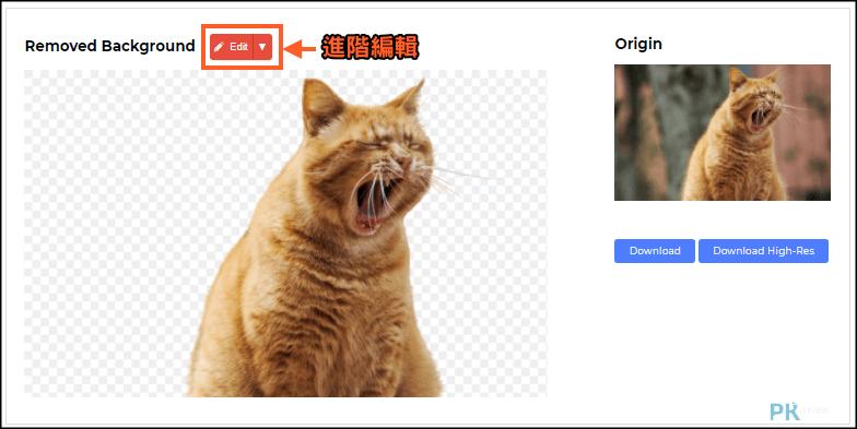 Removal-ai線上圖片剪貼摳圖2