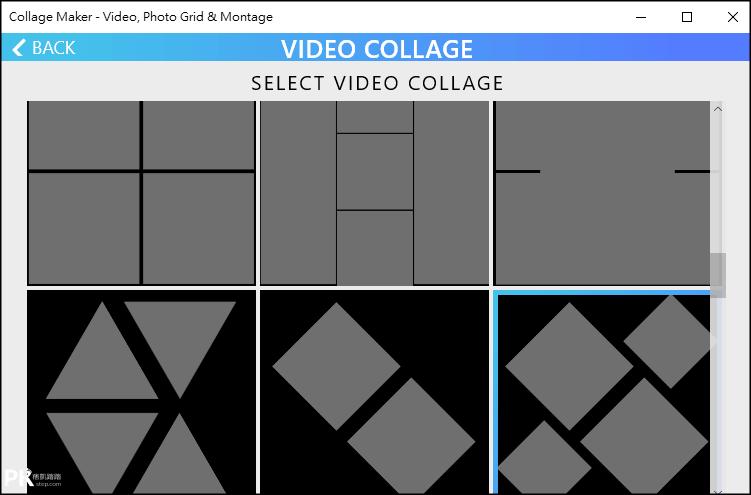 Video-Collage影片拼貼軟體2