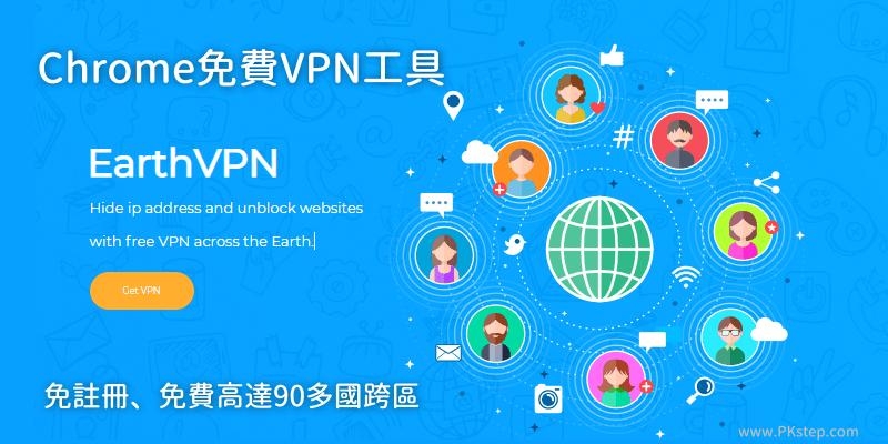 EarthVPN免費網頁VPN工具