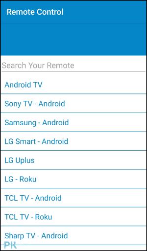 用WiFi控制電視的手機遙控器App2