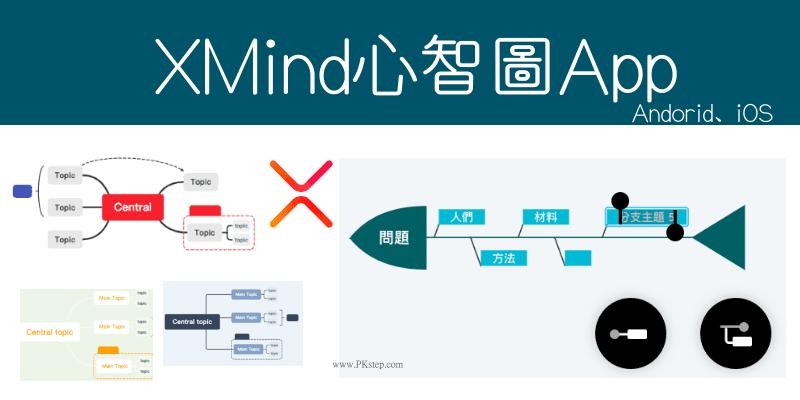 XMind手機話思維導圖App