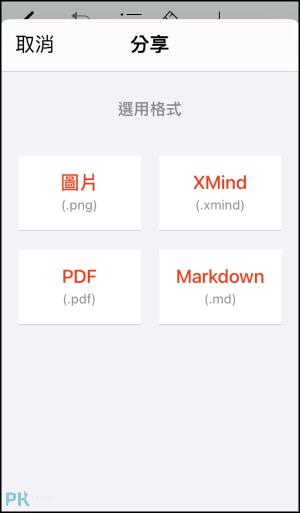 XMind手機話思維導圖App8