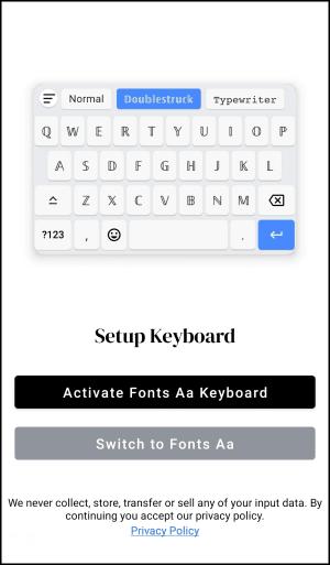 Fonts-Aa特殊英文字體App1