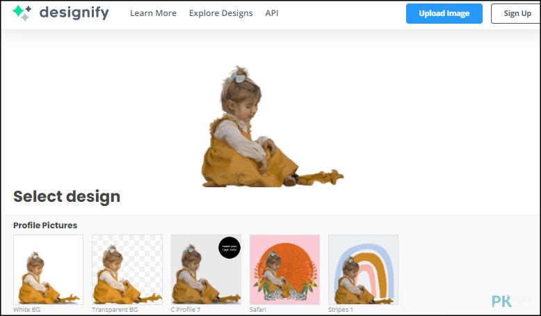 Designify線上圖片自動設計軟體2