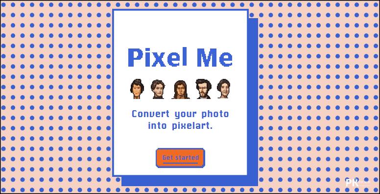 PixelMe線上圖片轉8bit網站1