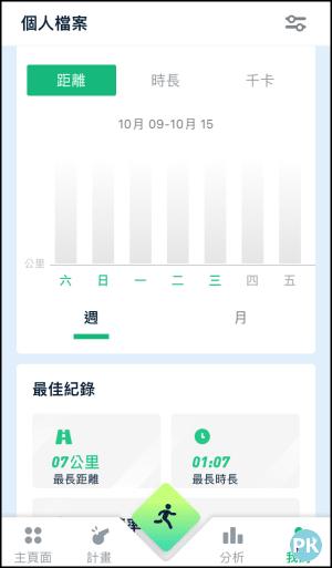 LEAP跑步記錄App8